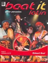 Beat-it-Latin-Guitar-Percussion-with-CD-Bossa-Nova-Samba-Cuban-Bolero-Sals